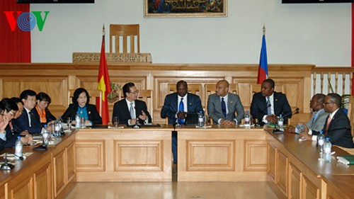 Vietnam, Haiti issue joint statement - ảnh 1