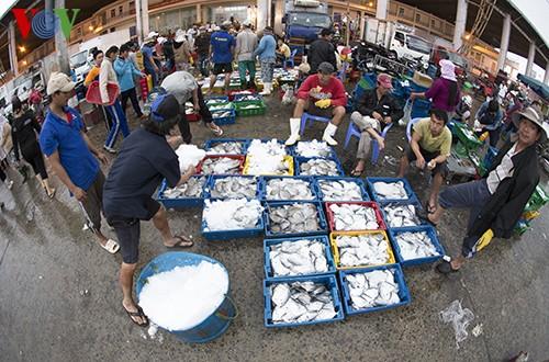 Tho Quang fishing port in spring  - ảnh 18