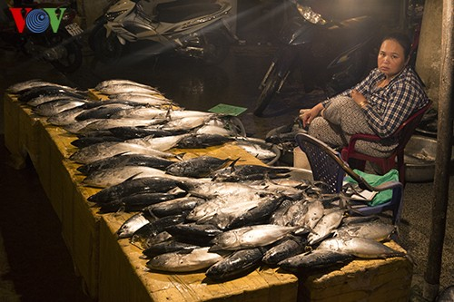 Tho Quang fishing port in spring  - ảnh 8