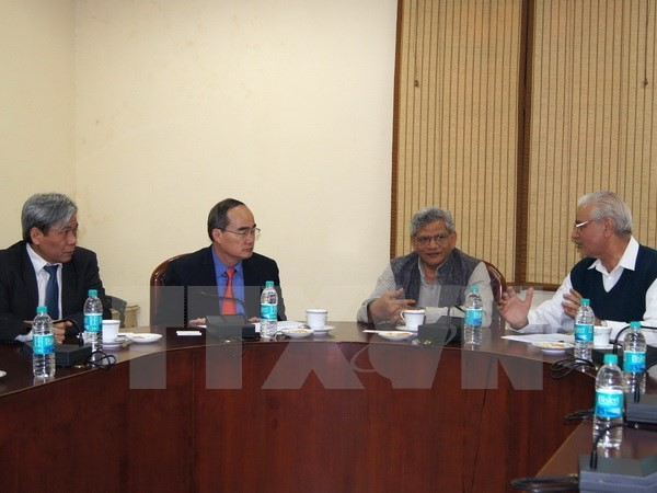 Vietnam tightens relationship with India's Communist Parties - ảnh 1