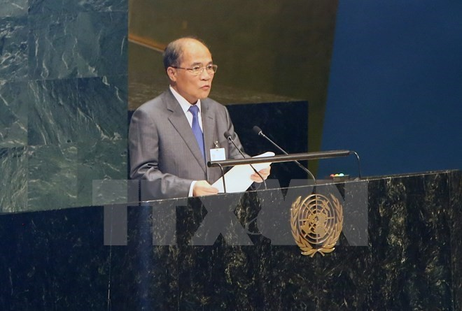 4th World Conference of Speakers of Parliament opens in New York - ảnh 1