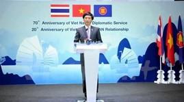 Activities to mark anniversaries of Vietnam's diplomacy, ASEAN membership  - ảnh 1
