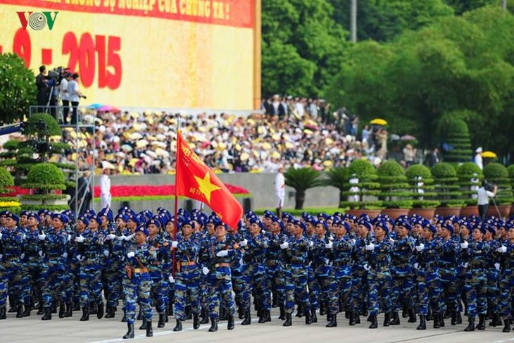 Scenes from majestic National Day parade - ảnh 9
