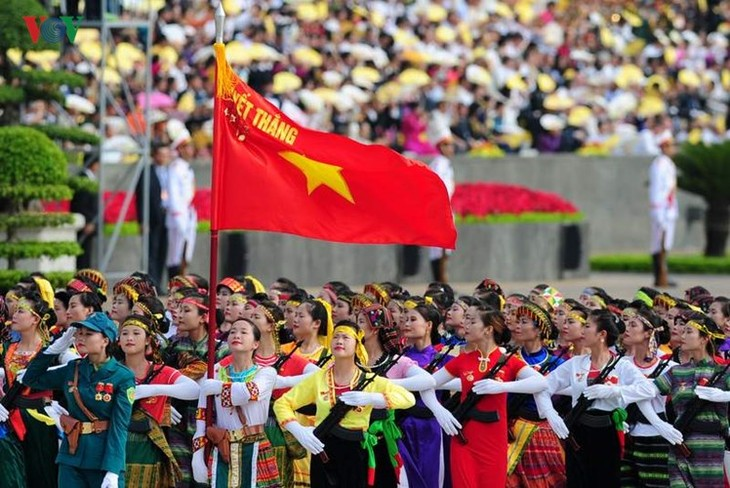 Scenes from majestic National Day parade - ảnh 11