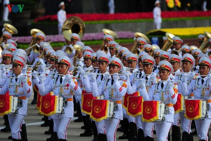 Scenes from majestic National Day parade - ảnh 6