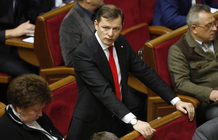 Ukraine's Radical Party leaves ruling coalition - ảnh 1