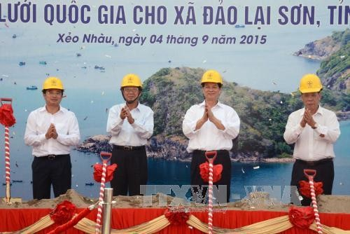 PM launched the construction of a national power grid project in Kien Giang - ảnh 1