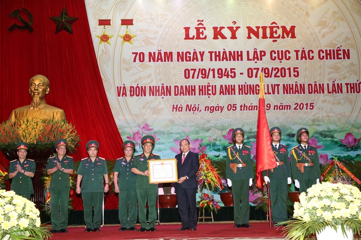 Department of Operations marks its 70th anniversary - ảnh 1