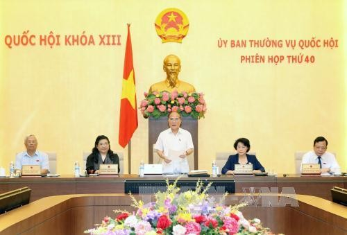 National Assembly Standing Committee's 41st session to open on Sep 14 - ảnh 1