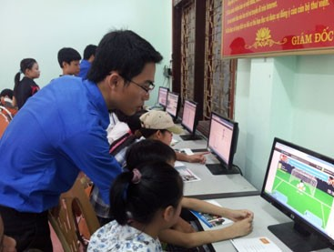 Community offer children support in information access - ảnh 1