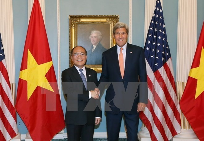 NA Chairman Nguyen Sinh Hung concludes official visit to the US - ảnh 1