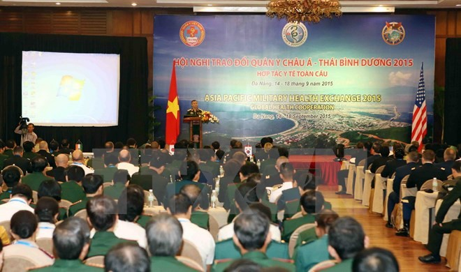 Danang hosts the Asia Pacific Military Health Exchange 2015  - ảnh 1
