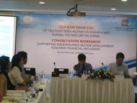 ADB supports Vietnam's micro finance development - ảnh 1