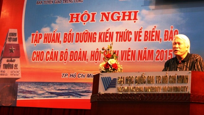Sea and islands knowledge raised for Youth Union and Students Association members in the south - ảnh 1