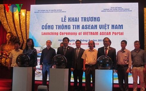 ASEAN Vietnam portal launched - ảnh 1