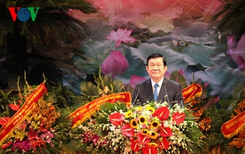 President Truong Tan Sang attends the 70th anniversary of Inspection sector - ảnh 1