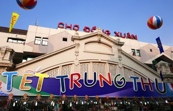 Colorful Hanoi's Old Quarter in Mid-autumn festival - ảnh 1
