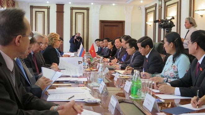 NA Vice Chairwoman visits Russia - ảnh 1