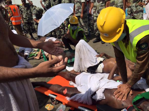 Stampede near Mecca: at least 310 dead - ảnh 1
