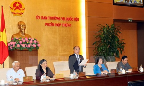 41st session of the NA Standing Committee closes - ảnh 1