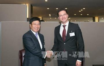 Bulgarian, Danish FMs talk cooperation with Vietnam - ảnh 1