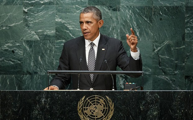 Obama: US upholds basic principles in resolving disputes through international law - ảnh 1