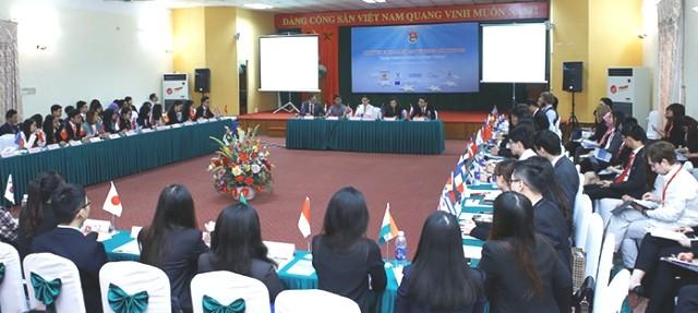 ASEM Youth Week opens in Hanoi - ảnh 1