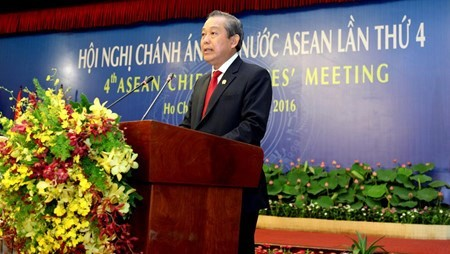 Fourth ASEAN Chief Justices' Meeting issues joint statement  - ảnh 1