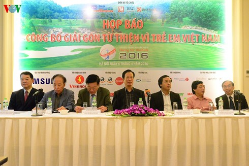 """""""Swing for the kids"""" golf tournament announced - ảnh 1"""