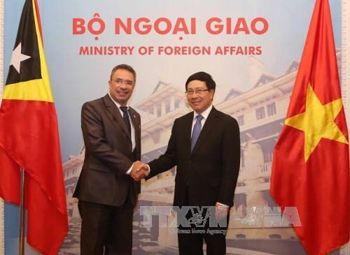 East Timor's Minister of Foreign Affairs and Cooperation visits Vietnam - ảnh 1