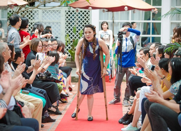 Fashion show for the disabled to be held in Hoi An - ảnh 1