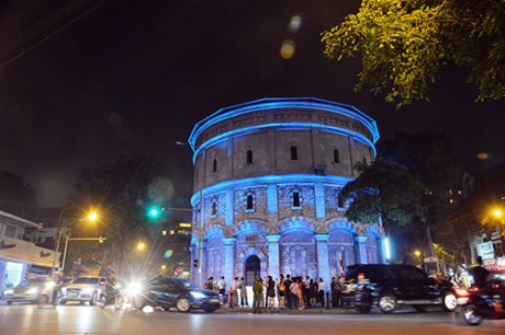 The Netherlands funds Hang Dau water tower's lighting project - ảnh 1