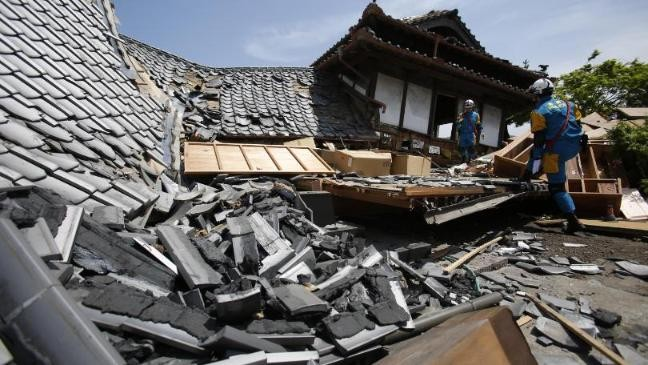 Japan earthquake: death toll rises to 41  - ảnh 1