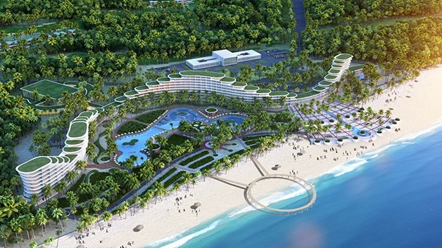 FLC Quy Nhon opens, hoped to give boost to local tourism - ảnh 1