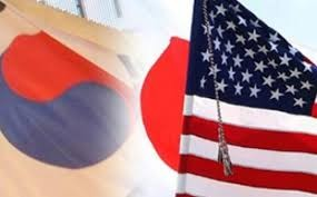 South Korea, Japan, US discuss measures to better handle threats from North Korea  - ảnh 1