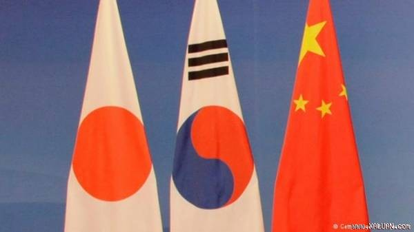 South Korean, Chinese, Japanese foreign ministry officials meet to prepare for a foreign ministers'  - ảnh 1