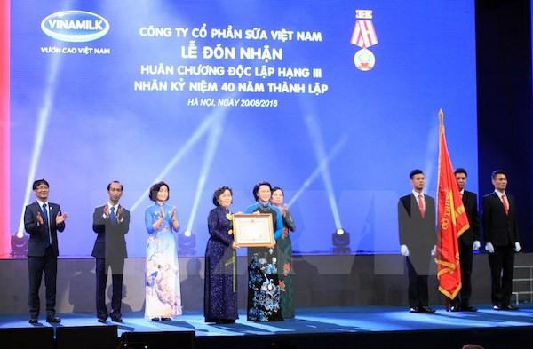 Vinamilk celebrates its 40th anniversary - ảnh 1