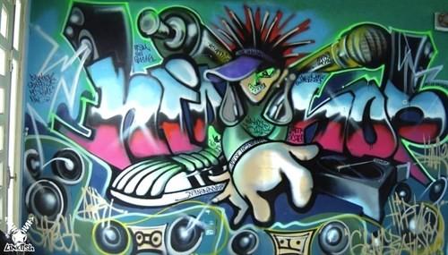 Graffiti Fest held by Hanoi Creative City  - ảnh 1