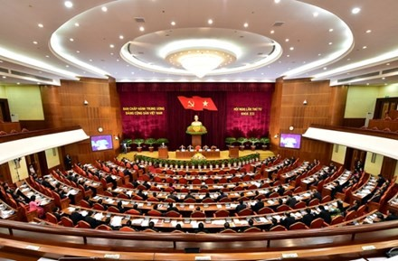 The 12th Party Central Committee opens its 4th plenum - ảnh 1