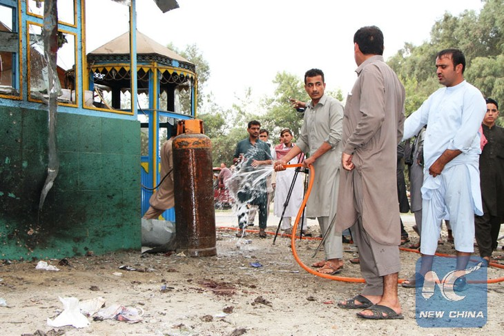 Suicide bombing kills 1, wounds 4 in Afghan Jalalabad city - ảnh 1