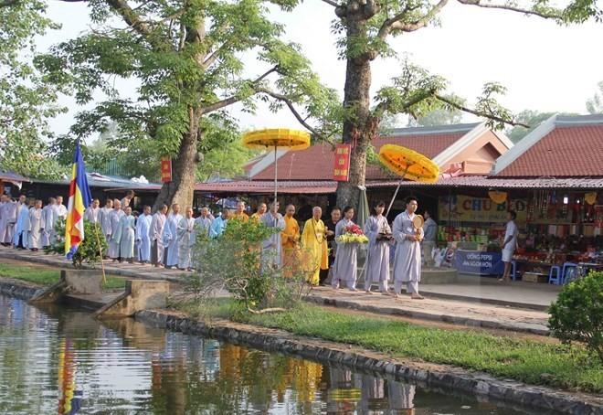 Autumn Keo pagoda festival opens - ảnh 1