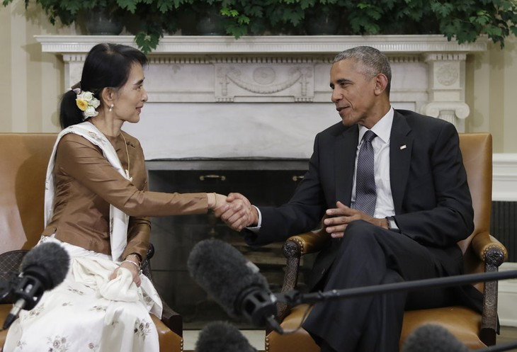 Myanmar-US relationship turns a page - ảnh 1
