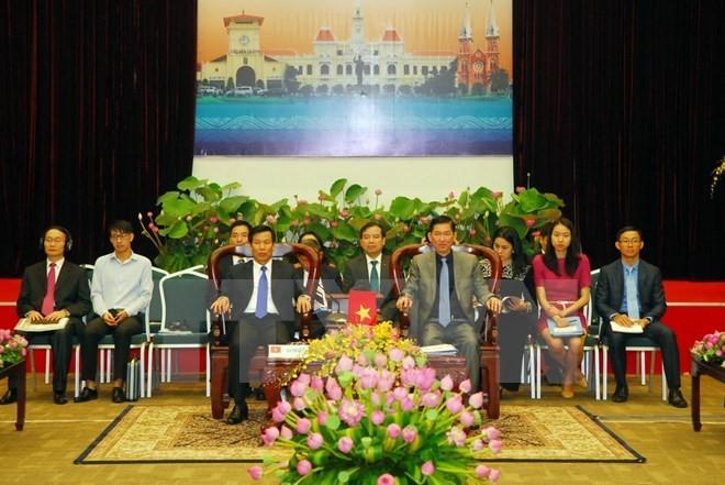 CLMV and AMECS cooperation- towards a dynamic, prosperous Mekong - ảnh 1