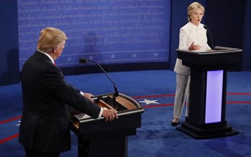 US's 3rd Presidential debate fierce till the last minutes - ảnh 1