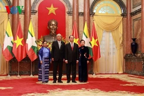 Vietnam, Myanmar to enhance political-diplomatic ties - ảnh 1