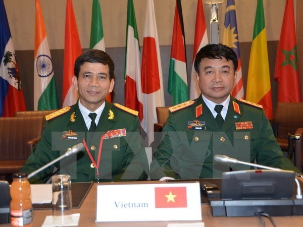 Vietnam attends Francophone's ministerial conference on peacekeeping - ảnh 1