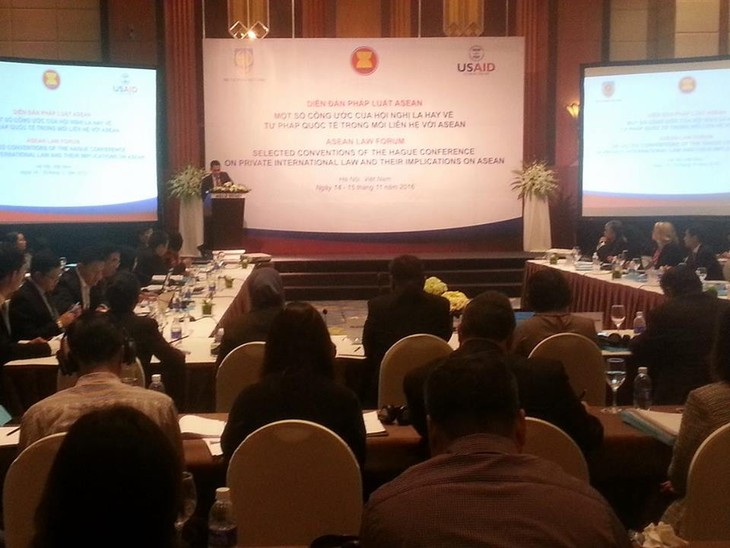 ASEAN Forum touches upon Hague conventions on international justice - ảnh 1