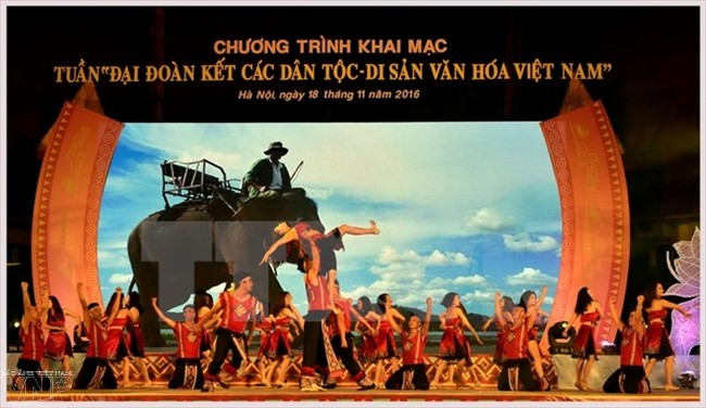 National Unity and Cultural Heritages Week opens  - ảnh 1
