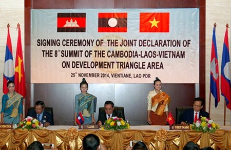 Cooperation in Cambodia-Laos-Vietnam Development Triangle Area - ảnh 1
