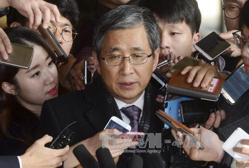 South Korean court rejects arrest warrant for former presidential secretary - ảnh 1